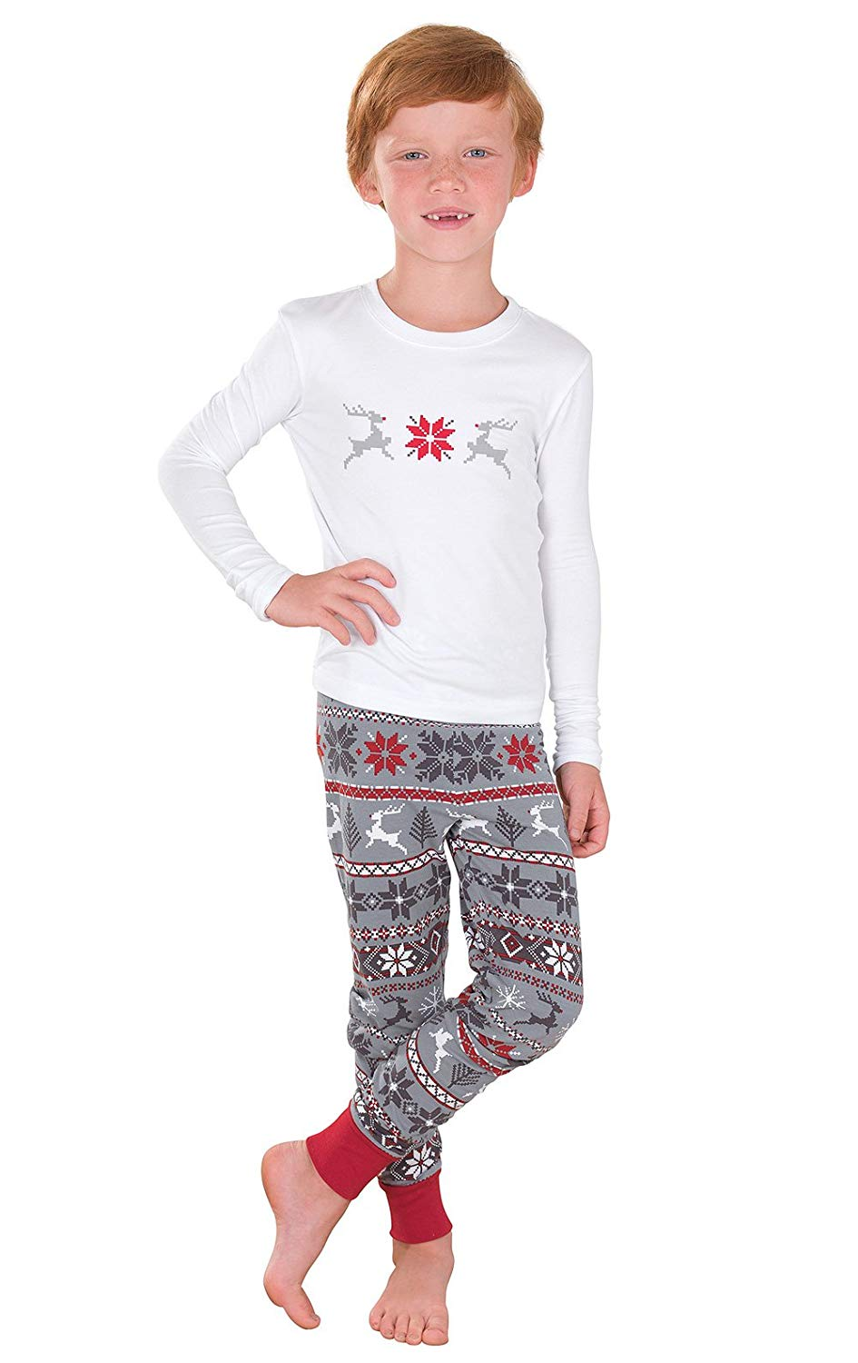 2c84265951 Get Quotations · PajamaGram Holiday Nordic Matching Pajamas for the Whole  Family