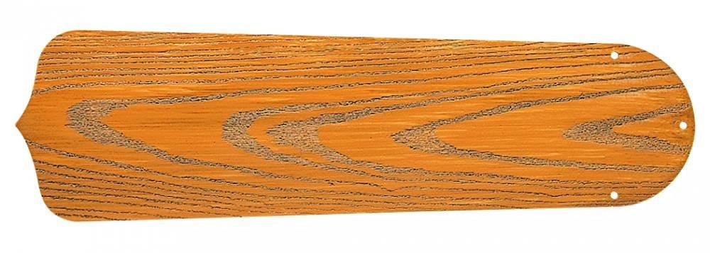 "Craftmade B544S-OLOK Outdoor Standard Ceiling Fan Blades, 44"", Light Oak"