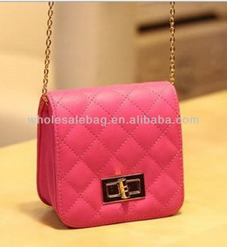 85d94dcd62 Cute Small Sling Bag With Long Chain Messenger Bag Cross Shoulder Bag For  Girls Ladies Women