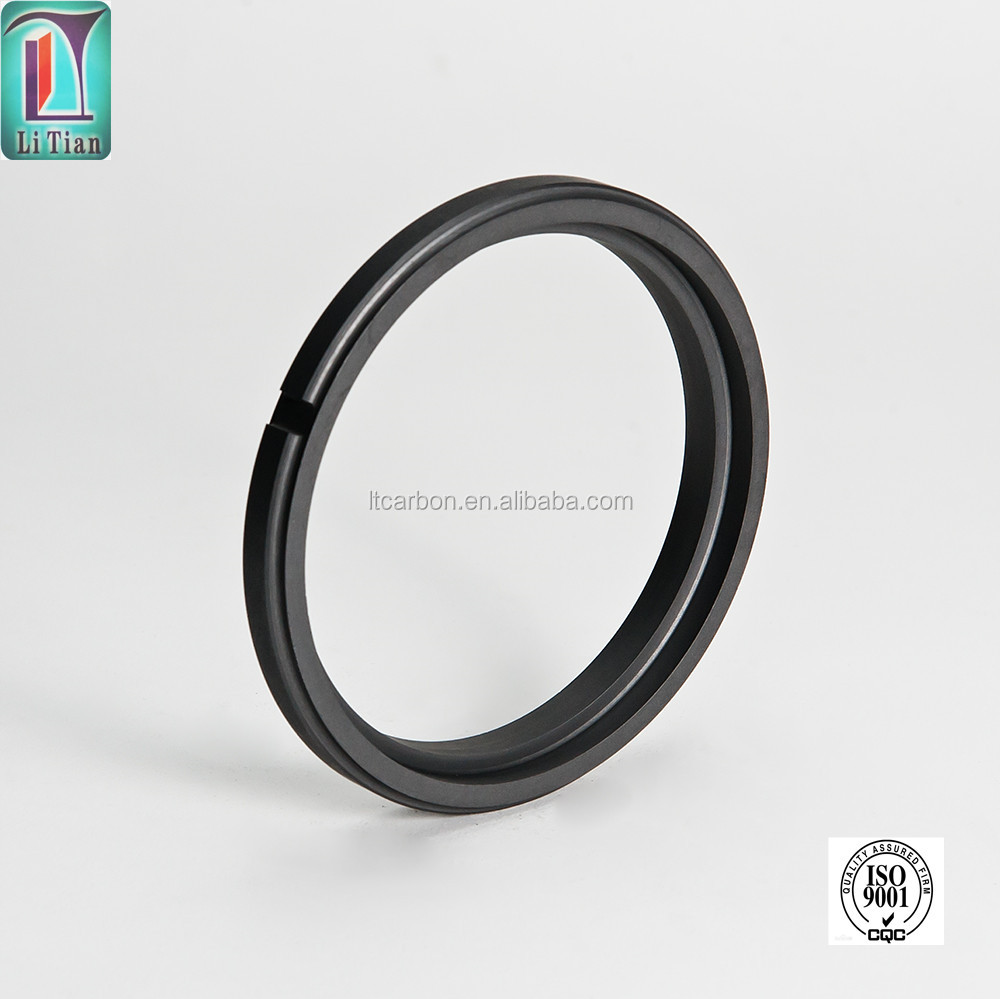 hp china supplier customized carbon graphite seal ring