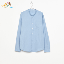 Hot Sale 092305 OEM Color Slim Fit Top Tee 100%Cotton Casual Dress Shirts