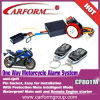 wonderful alarm system CF801M new one way motorcycle alarm system with Engine starter for sale