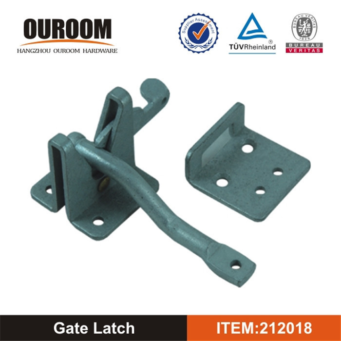Decorative For Wooden Standard Gravity Latch with Floating Bar