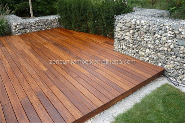 Eco Forest Uv Coating Cheap Outdoor Bamboo Deck Flooring