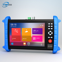 Coaxial hd camera tester with TDR breaking point testing/optical power meter/UTP cable finding