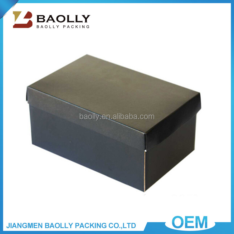 China Suppliers Wholesale Corrugated Cardboard Storage Shoes Box Paper Packaging Gift Shoe Box