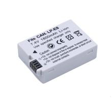 Rechargeable 7.4V 1800mAh LP-E8 LP E8 Li-ion Batteriy Pack For Canon 550D 600D 650D 700D DSLR Digital Cameras