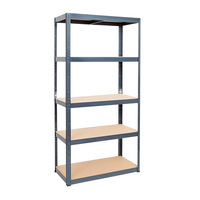 Bolt free 175 kg load capacity shelf shelving unit