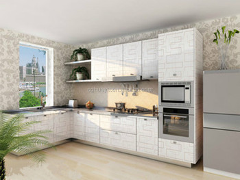 Ukuran Standar Mdf Kualitas Tinggi Desain Dapur Kabinet Furniture Kecil