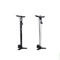 High-Pressure bicycle foot air pump With Polished Finish HQ-02
