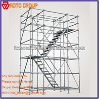 Oil and Gas Refineries modular scaffold system
