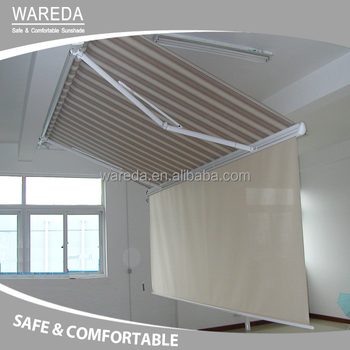 Sun shades Retractable Awning Motorized Outdoor Awning