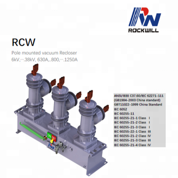 33kV Auto recloser/ACR with smart APP management software for automation application