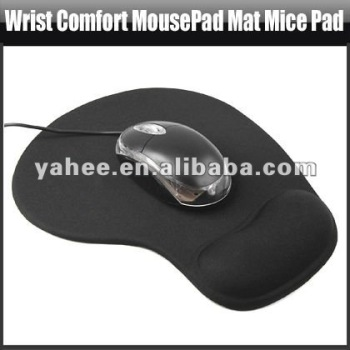 Wrist Comfort MousePad Mat Mice Pad for Optical Mouse,YHA-PC098B