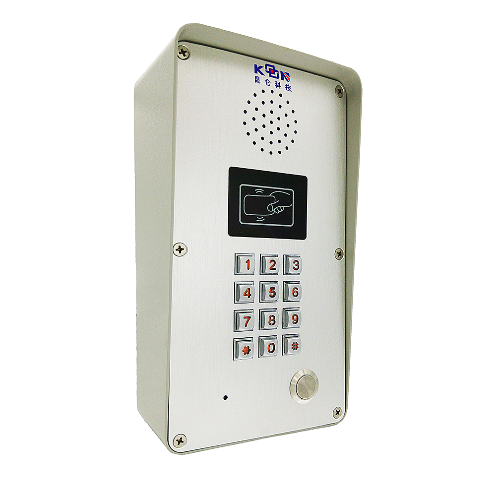 Waterproof video intercom system IP 65 water proof