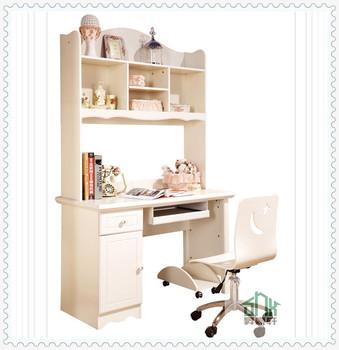 Stylish Children Study Desk HA A Bookshelf Design Wooden Bookcase