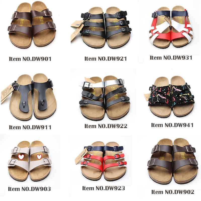4681fc4d7da9 High quality casual cork clogs sandals 2.5mm thick genuine leather women  mules shoes cork sandals. More designs of men sandals