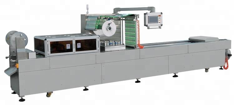 स्वचालित Thermoforming वैक्यूम मांस खाद्य त्वचा पैकिंग मशीन