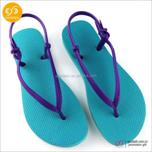 Wholesale cheap ladies sandals slippers rubber flip flop slipper