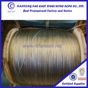 Steel towing wire rope 1*19 capacity of steel wire rope, ropes for sale