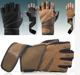 weight lifting Breathable anti-sweat sports Training glove fingerless gloves glove manufacturing half finger gym bike