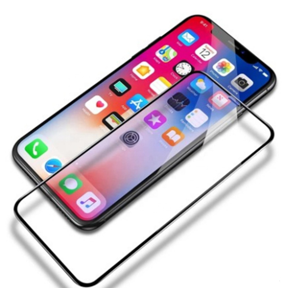 New Product 3D 9H Soft Edge Explosion-proof Glass Screen Protector High Definition Protection Film For Iphone XS