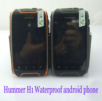 Original Hummer H1 GPS rugged Android ip67 Waterproof cell phone Dustproof shockproof Russian Hebrew Polish Turkey