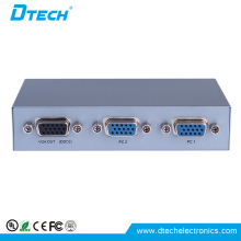 Hot selling vga video vga switcher 2 port VGA SWITCH