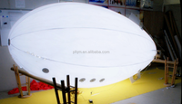 inflatable helium with LED light blimp/airship