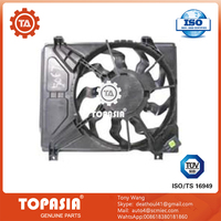TOPASIA Radiator Fan For Hyundai i10 25380-0X150