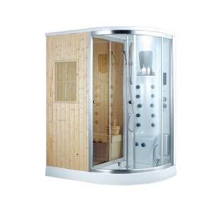 K-7114(L/R) ksa saudi electric control panel one person portable steam sauna shower room