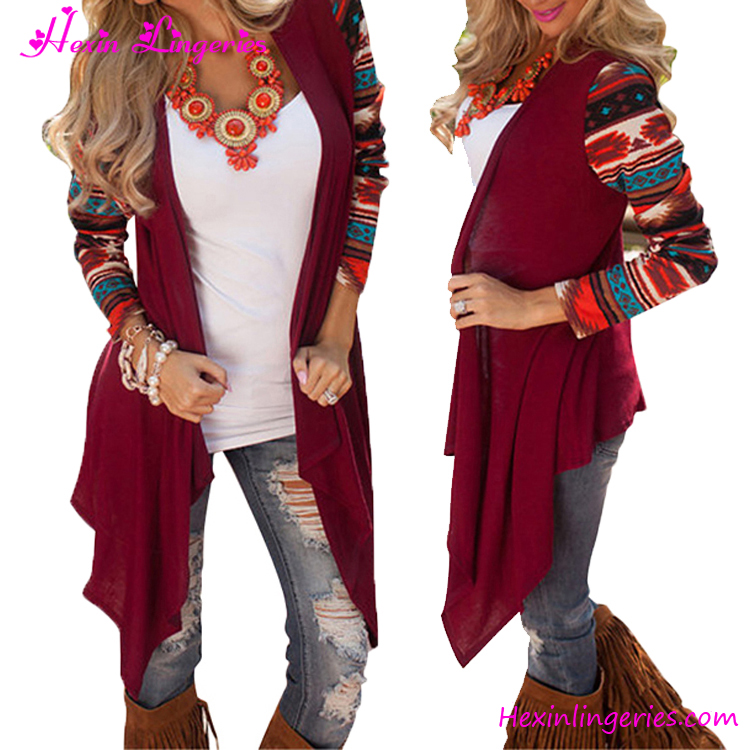 b6262a5dc87f9 2017 Stylish Girls Knit 6 Colors Long Sleeve Cardigan Sweater - Buy ...