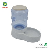 small plastic Pet water dispenser for home dog bird cat differnt animals to drink water