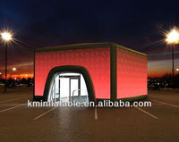 outdoor events inflatable cube tent