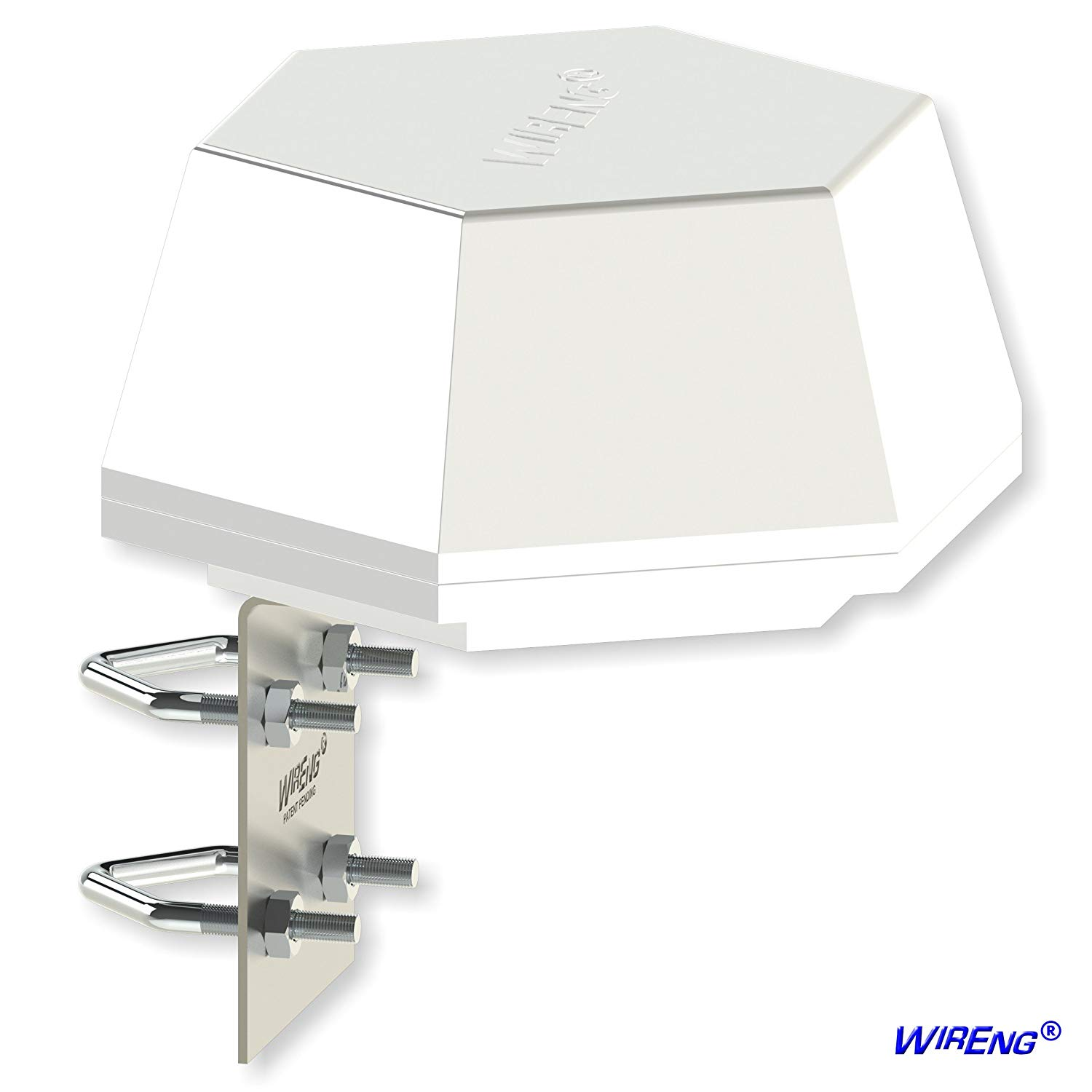 DefiAnt2-MIMO™ Antenna for BandRich Bandluxe R500 RV/Vehicle/Truck/Van/Boat/Transit True MIMO Omni ±45° Dual - Industrial Grade