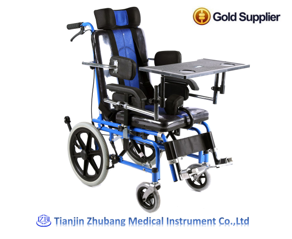 Tianjin 4 Wheel Drive Economic Used Manual Lightweight Wheelchair for Kids