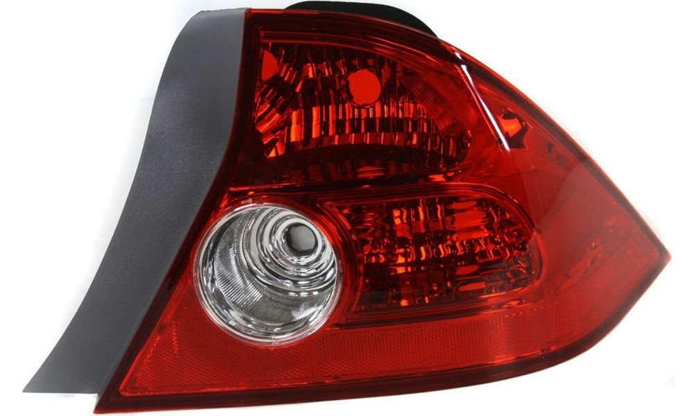 Evan-Fischer EVA15672041634 Tail Light for Honda Civic 04-05 RH Lens and Housing Coupe Right Side Replaces Partslink# HO2801155