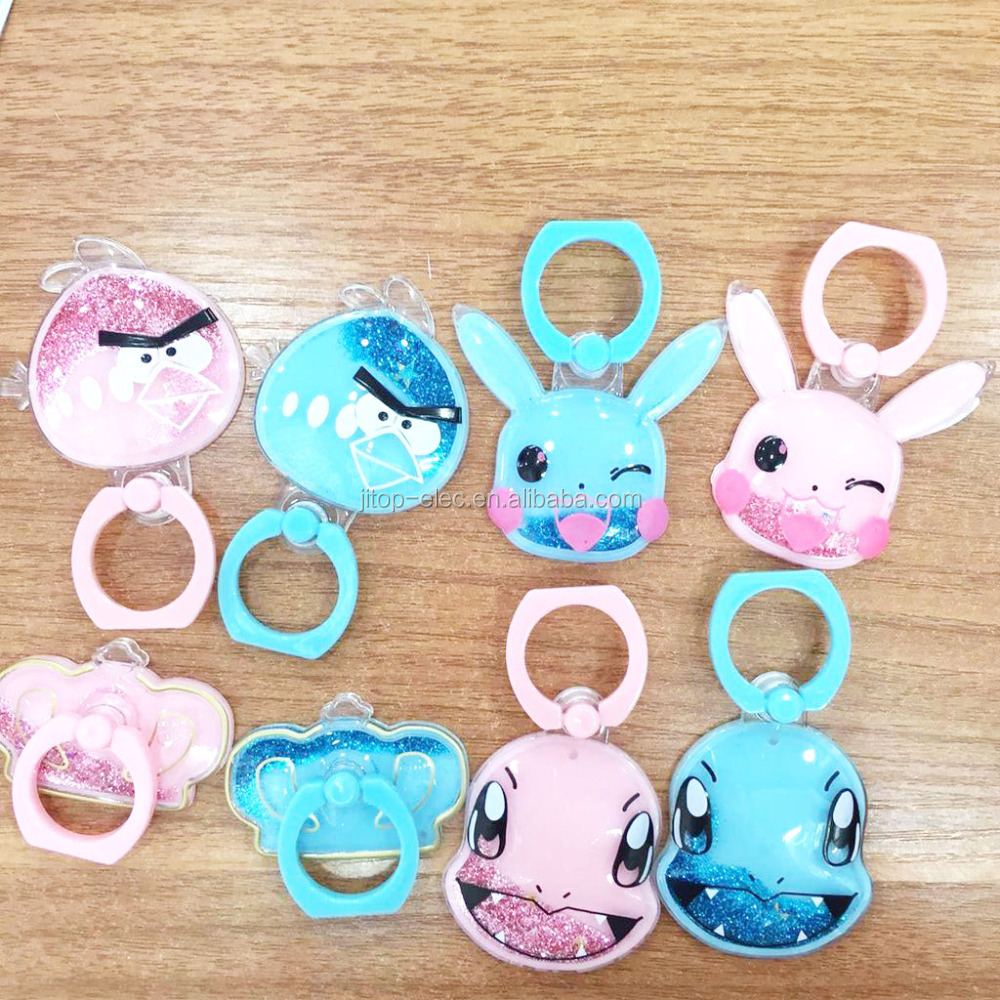 The Finger Ring Phone holder for mobile phone stick stand cartoon ring holder for phone ring stand for mobilephone