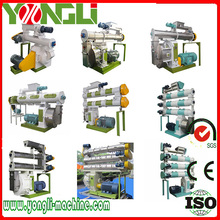 CE approved ring die style chicken feed line mill machine small capacity