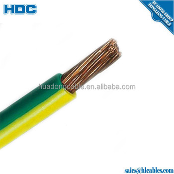 Housing Wire Cable H07v-k Electric Wire 205mm Electrical Cable Wire on