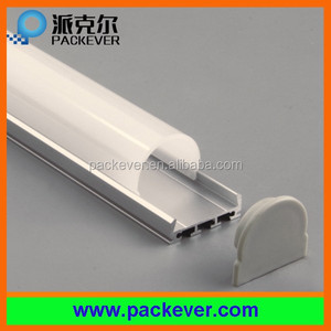 Wide view angle aluminium LED light profile with diffuser cover