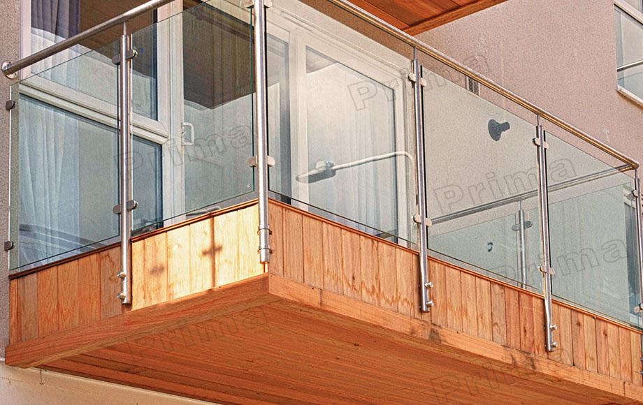 Glass Fixing Balustrade Spigots Interior Stairs Railing Designs