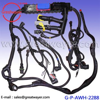 Oe 22018636 Heavy Truck D13 Mp8 Con Ecm Trw Engine Wire Harness - Buy on