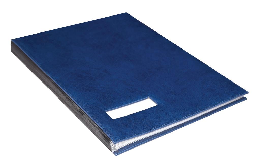 Fashion Design Pu Cover Signature Folder Signature Book