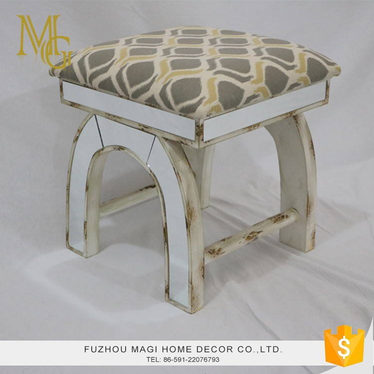 Customized living room antique solid wood stools