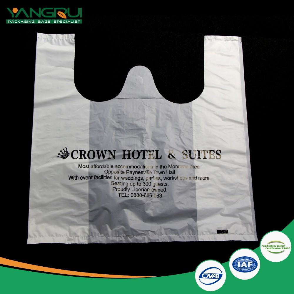 Supermarket t shirts plastic shopping bag buy t shirts for Plastic bags for t shirts
