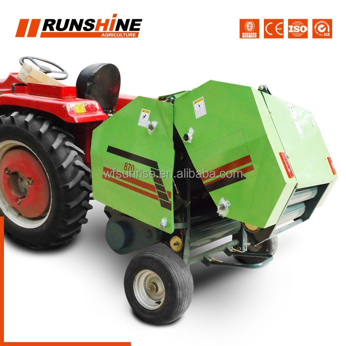 Europe makret customized (CE No.OSE--11-0606/01) RXYK-0850; 0870 model tractor driven small alfalfa baler machine