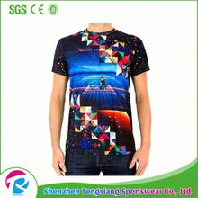 2017 Best Selling Customize Sublimation T Shirts Blank Design