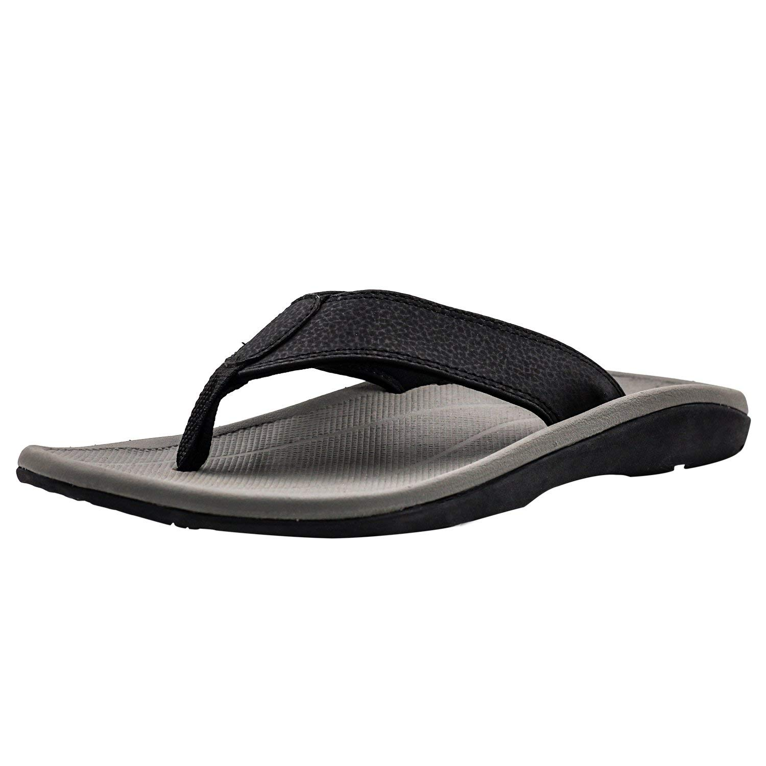 211bb5d08887 V.Step Flip Flops with Arch Support Men s Orthotic Comfort Casual Slippers  Sandals Flat Thong