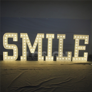 High brightness led marquee letters outdoor big channel letter sign